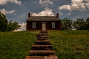 """Slaves View of Rankin House Underground Railroad Entrance"""